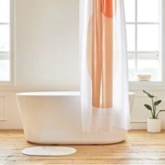 팔레트 욕실 샤워커튼 디자인 패브릭 방수 가림막 커텐_(1376957)