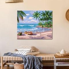DIY 페인팅 하와이의 해변 PL42 (40x50) PH73_(1495703)