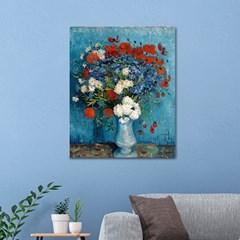 DIY 페인팅 고흐의 국화와양귀비 꽃병 PS08 (40x50)_(1495679)