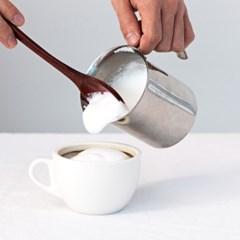 [칼딘] 홈카페 라떼 우유 거품기 이지 펌프 밀크포머