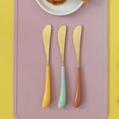 몽블랑 스완 골드 커트러리 11color - 아동용 디너나이프