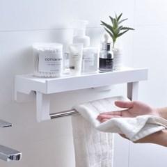 북유럽 욕실선반 4종 흡착식 다이얼 화장실 선반