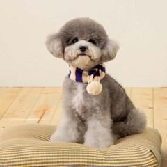 [mungmoong] Wool 스트라이프 폼폼 목도리 (2컬러)