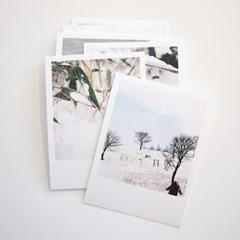 WINTER 10 미니 엽서 세트