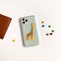 기린 Giraffe 투명젤리케이스_Clear Jelly Case