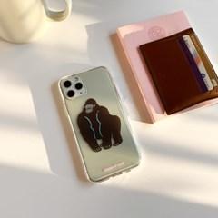 고릴라 Gorilla 투명젤리케이스_Clear Jelly Case