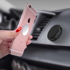차량용 마그네틱 스마트폰 거치대(블랙)