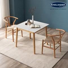 모데라토 원목 통세라믹 2인용 식탁(의자 미포함)