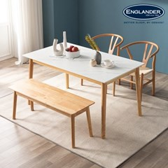 모데라토 원목 통세라믹 4인용 식탁(의자 미포함)