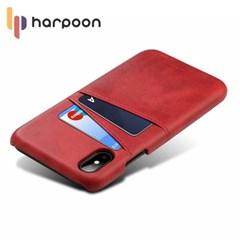 하푼 아이폰6 6S 레더 스티치 투 카드 케이스