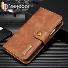 하푼 아이폰 X XS 2in1 레더 다이어리 지갑 케이스
