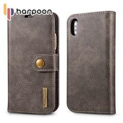 하푼 아이폰 5 5S SE 2in1 레더 다이어리 지갑 케이스