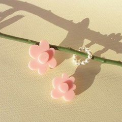 princess earring set (light pink)