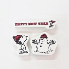Snoopy New Year Stamp Set 스누피 새해 스탬프 세트 #3