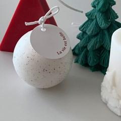 Christmas ball Candle
