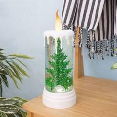 [반짝조명] 크리스마스 트리 LED 초 워터볼
