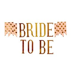 BRIDE TO BE 배너