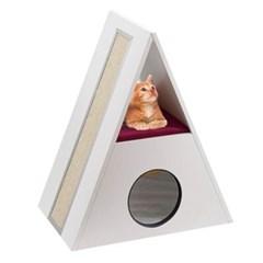 고양이 퍼플라스트(ferplast) 캣타워 메를린_(517005)