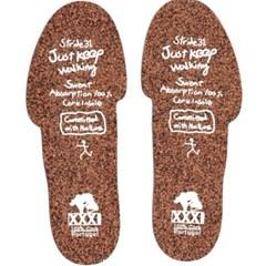 발냄새 제거 코르크 깔창 인솔 3mm 땀흡수 기능성 신발 땀억제깔창