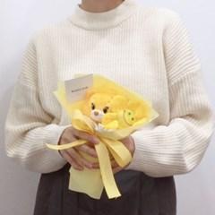 미니 케어베어 인형 꽃다발