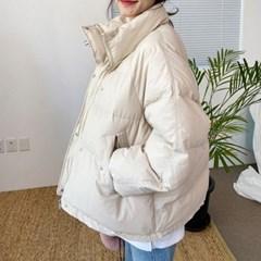 베이직 숏 남여공용 패딩 여성 남성 패션 숏패딩_(892005)