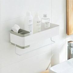 모던 스틸 수건 걸이 믹스 다용도 욕실 수납 선반