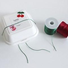 트와인끈 5M 9color 선물 포장 형광 끈 어린이집 유치원 생일 답례품