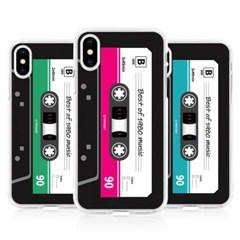 하푼 아이폰5 5S SE 카세트테이프 젤리케이스