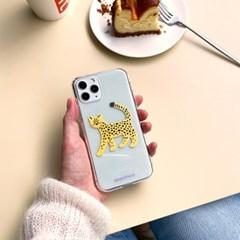 치타 cheetah 투명젤리케이스_Clear Jelly Case