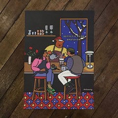 Bear's coffee roasters art print A3/A2