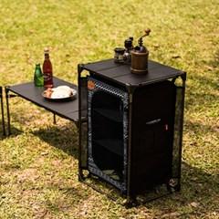 카즈미 IMS 캐비닛 430 K8T3U026 / 캠핑 접이식 테이블 선반