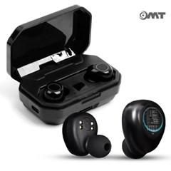 OMT 무선충전가능 퀄컴칩셋내장 무선5.0 블루투스 이어폰