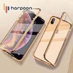아이폰6s플러스 전면 강화글라스 마그네틱 케이스