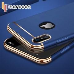 하푼 아이폰5 5S SE 슬림핏 골드라인 풀커버 케이스