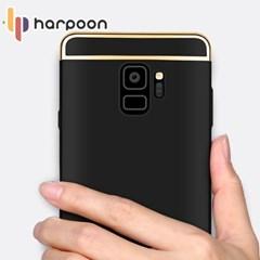 아이폰6플러스 6S 슬림핏 골드라인 풀커버 케이스