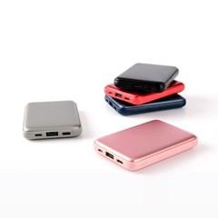 USB충전 최대 50도 양면발열 휴대용 손난로 겸 보조배터리 5000mAh