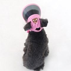 [ODD PET][ODD STUDIO] 또또또 UV차단 모자 - 누또(핑크)
