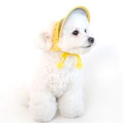 [ODD PET][ODD STUDIO] 또또또 UV차단 모자 - 따또(옐로우)