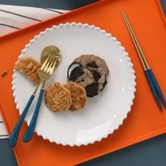 몽블랑 스완 골드 커트러리 11color - 키즈 3종세트