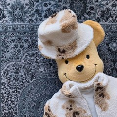 페) 뽀글이 아동 모자