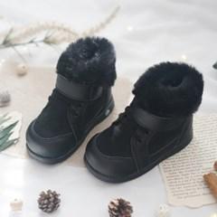 [쿵스쿵스]로디방한삑삑이신발(블랙) 유아부츠 아기부츠
