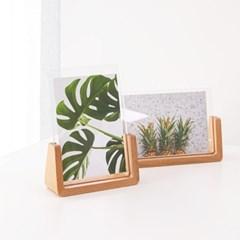 원목 테이블 사진 액자