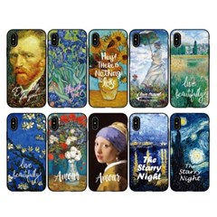 아이폰6 6S+ 명화 카드도어 범퍼케이스