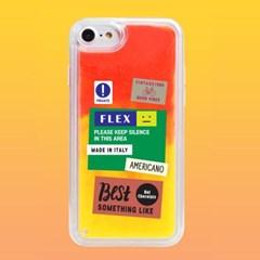 아이폰6 6S 플러스 패치시리즈 네온샌드 케이스