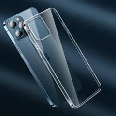 스키니클리어 아이폰12프로맥스미니 투명케이스 생폰보호 3종세트