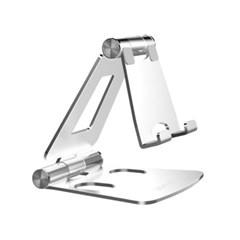 더블조인트 알루미늄 스탠드 스마트폰 거치대 접이식 다각도높이조절