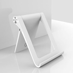 롱에스 폴딩 스탠드 스마트폰 거치대 접이식 다각도높이조절 휴대폰