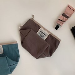 Lykke Classic Pouch__Chocolate