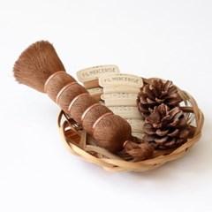 천연 종려나무 세척솔