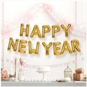 은박풍선세트 HAPPY NEW YEAR 3색/크리스마스 신년
